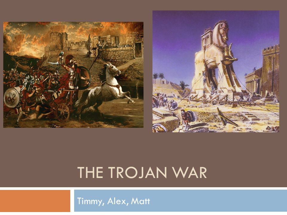 what was the reason for the trojan war