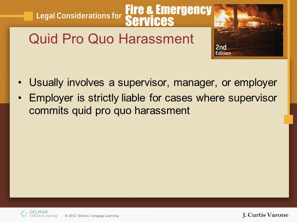 Sexual Harassment and Other Forms of Employment