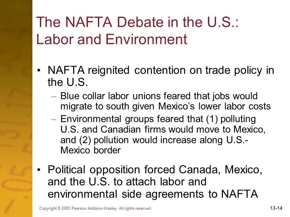 Chapter 13 Economic Integration Into North America Ppt Download
