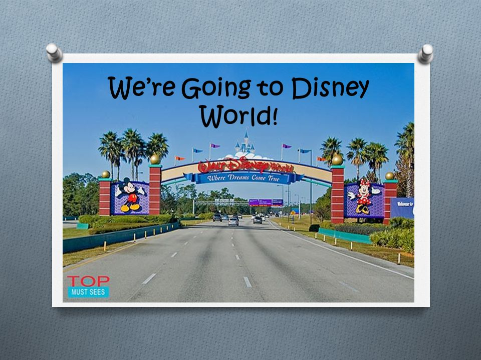 We're Going to Disney World!. Transportation Flight Cost- $1 ...