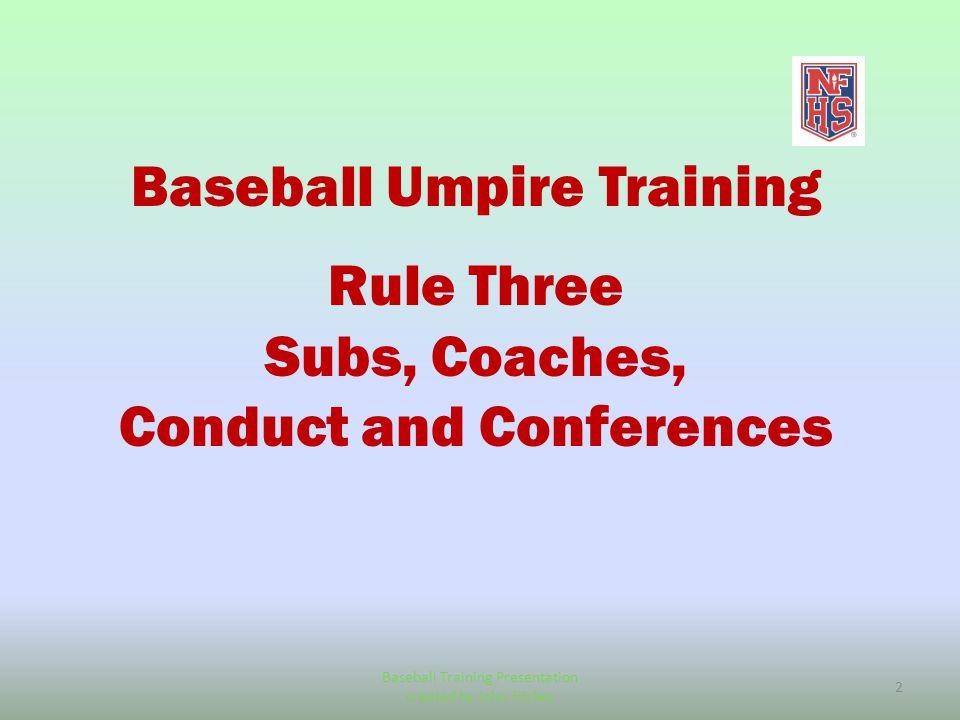 nemoa baseball 2013 baseball umpire training powerpoint created by