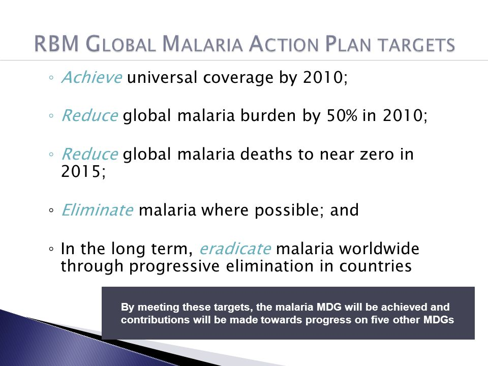 malaria prevention Start studying malaria prevention learn vocabulary, terms, and more with flashcards, games, and other study tools.