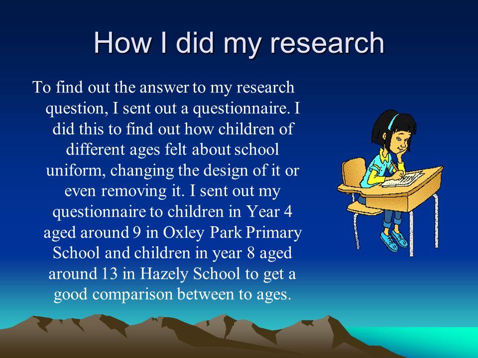 Does School Uniform Change Different Aged Children\'s Behavior? BySai ...
