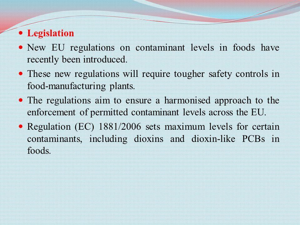 Environmental Contaminants  Dioxins and PCBs What are
