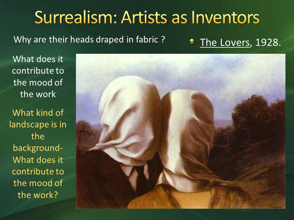 The Lovers, Why are their heads draped in fabric .