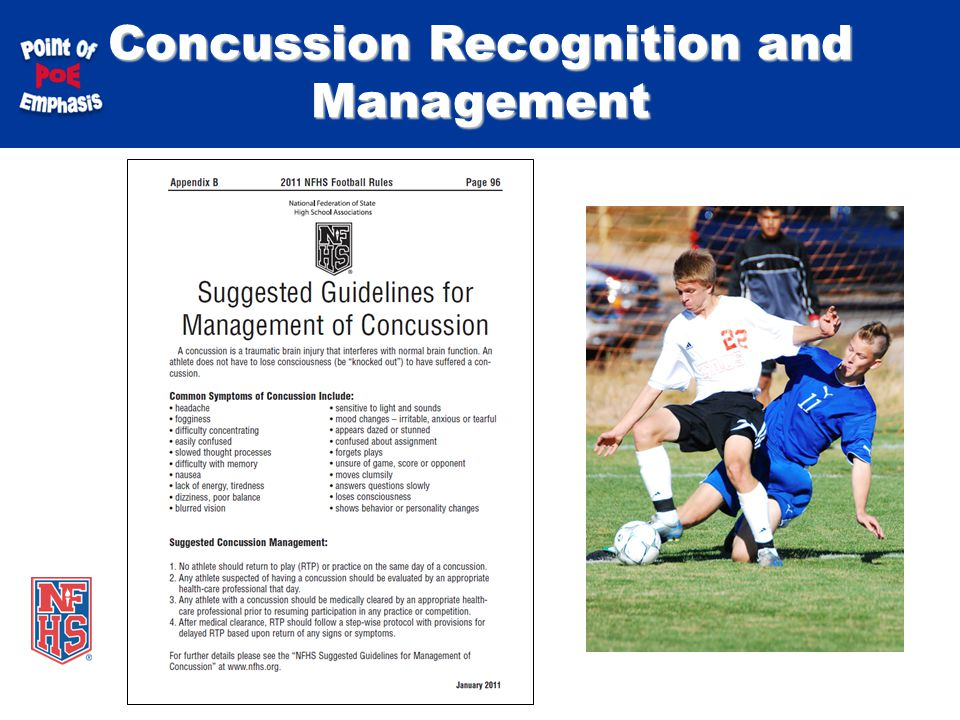 Take part get set for life national federation of state high 21 concussion recognition and management fandeluxe Gallery