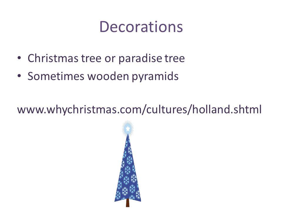 5 decorations