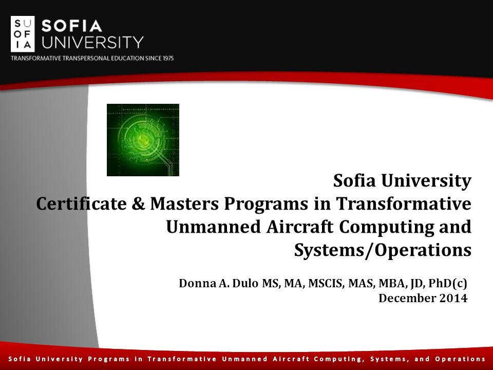 Sofia University Certificate & Masters Programs in Transformative ...