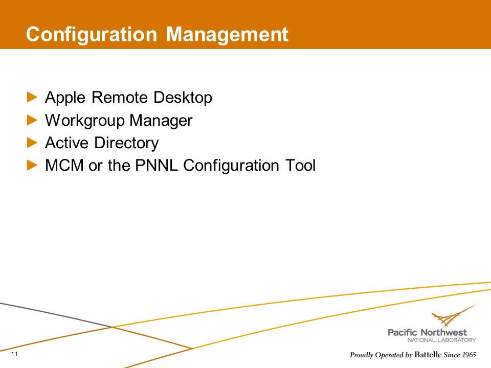 Macintosh Configuration Management Will Jorgensen ppt download