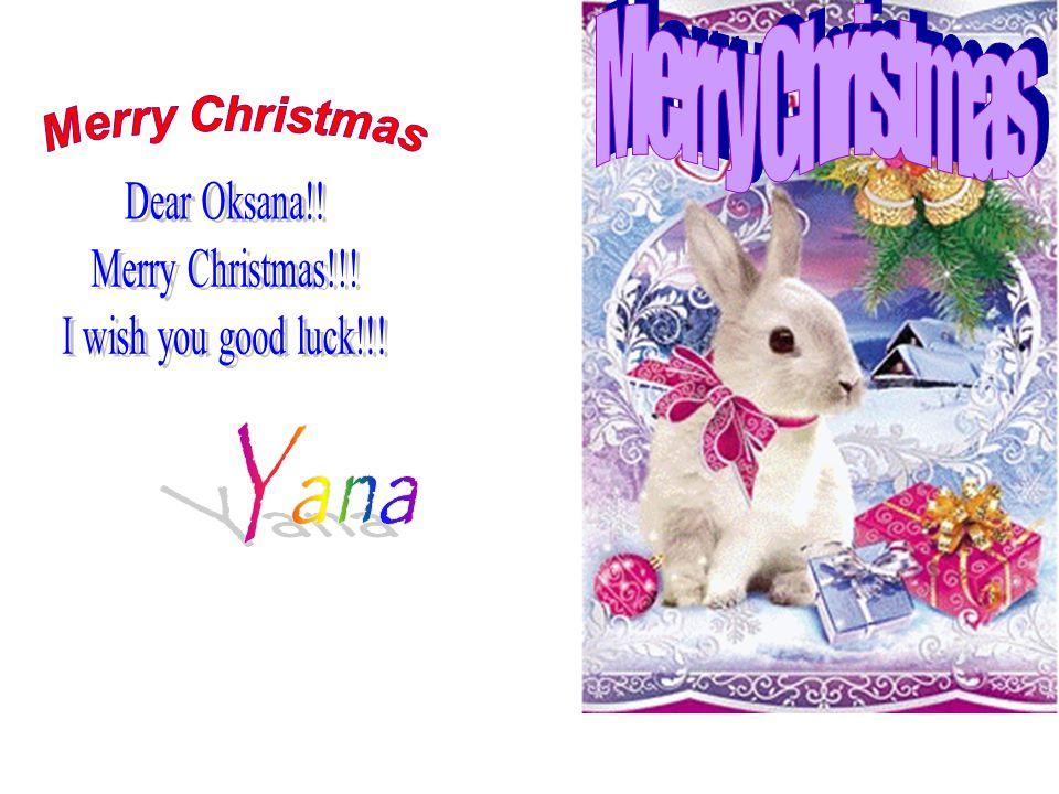 We wise happy New Year. Dear friend! Dear Vera Ivanovna, My Wishes ...