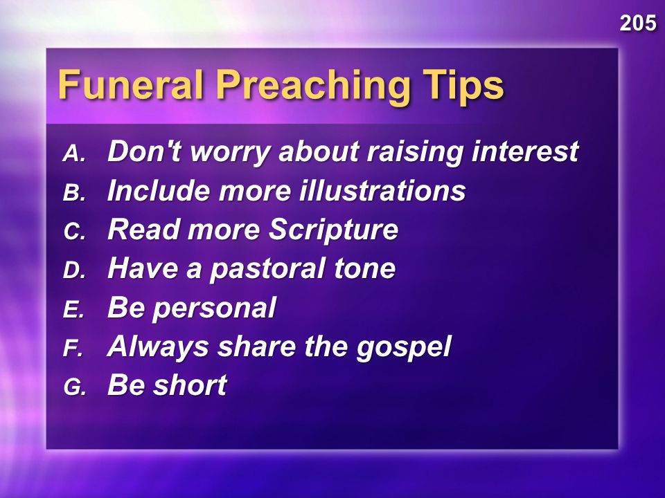 Specialty Sermons Evangelistic Wedding Funeral Dr Rick