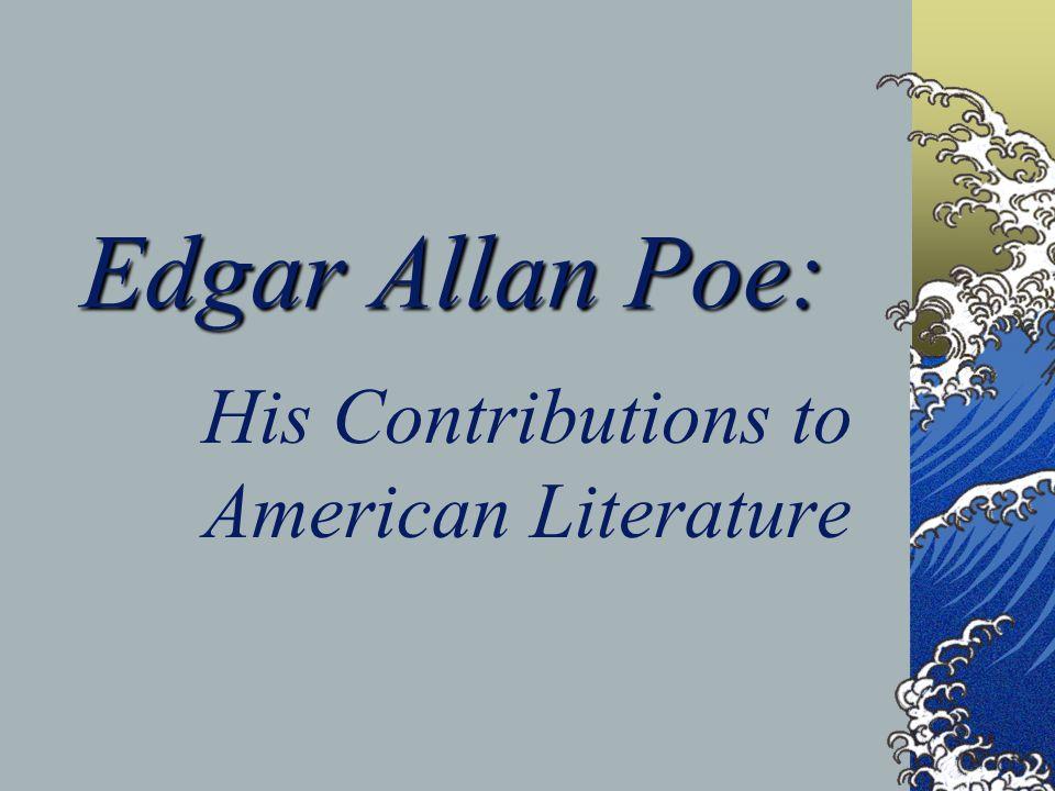 edgar allan poe american literature