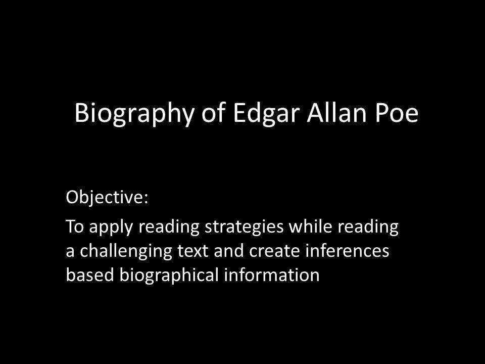 a & e biography edgar allan poe