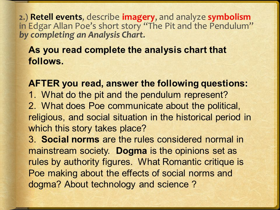 Edgar Allan Poe Author Study Objectives 1entify Prior Knowledge
