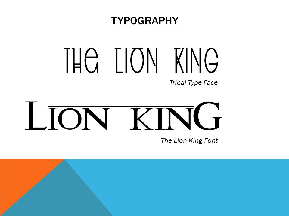 Motion Graphics Proposal For Final Piece Disneys The Lion