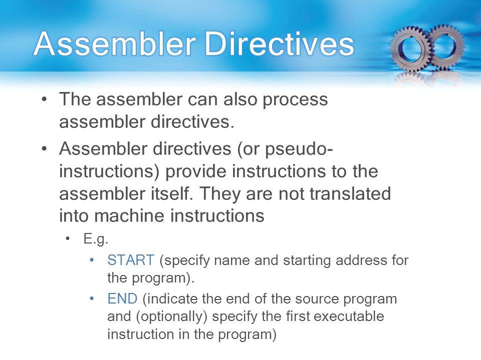 Assembler Compiler Interpreter ASSEMBLER To convert the
