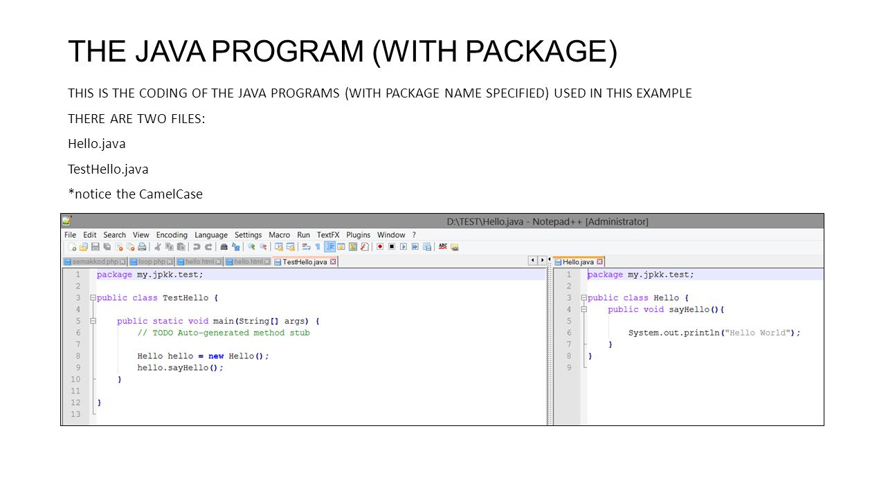 COMPILING JAVA PROGRAM USING JDK COMMAND LINE WINDOWS