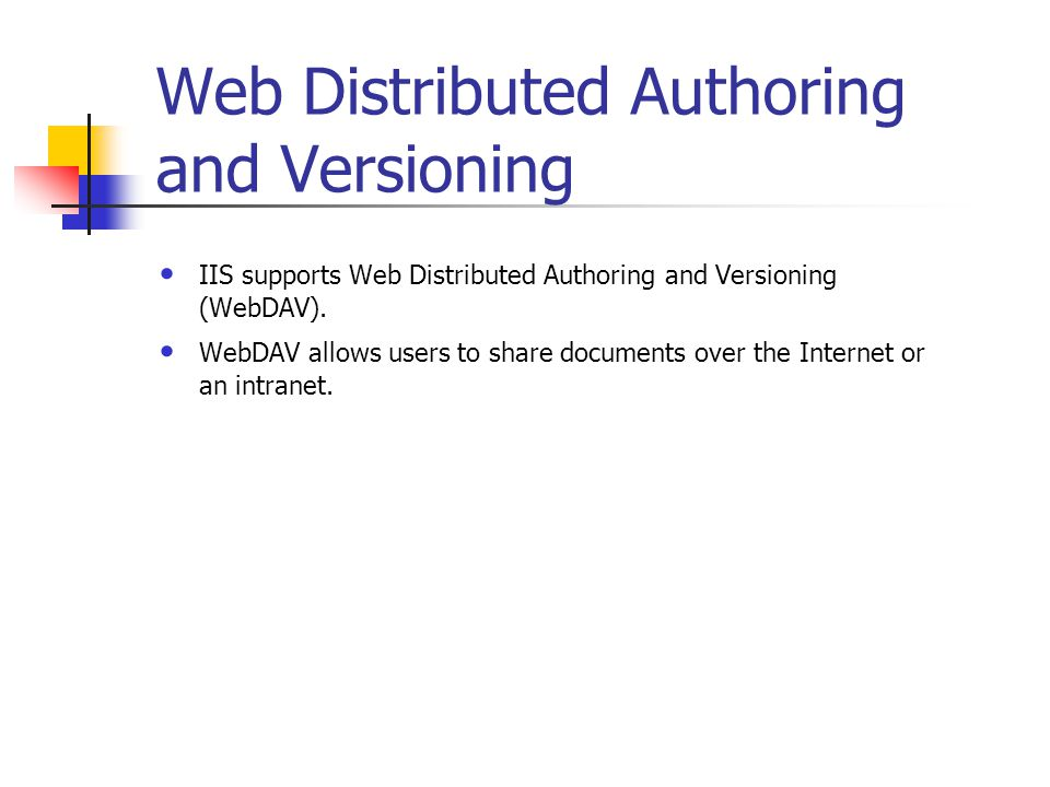 Reliability and Performance Application protection IIS