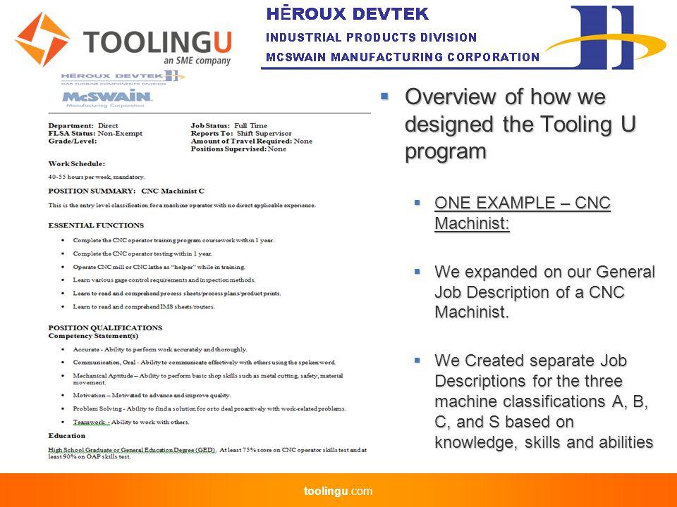 Toolingu com ) Debbie Picchione Human Resources Manager of