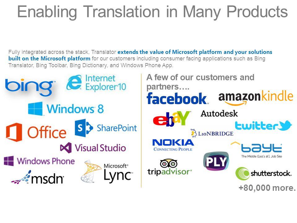 Microsoft Translator William Lewis Kites Symposium October 31