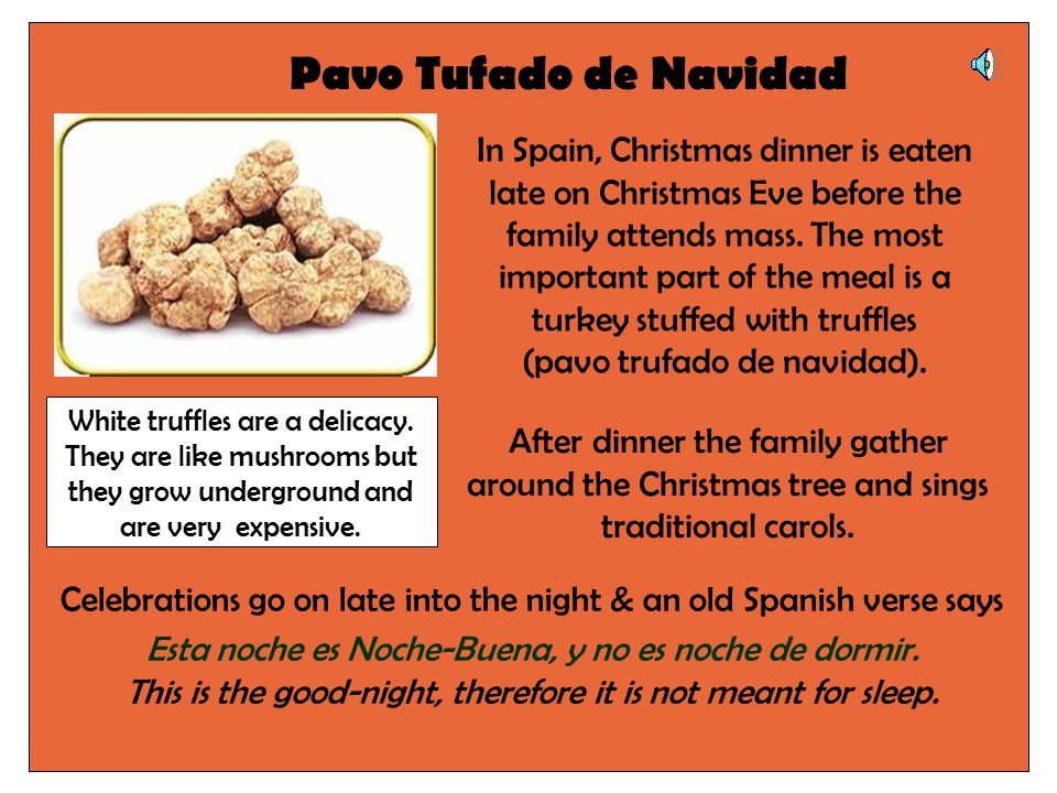 Spanish Christmas Customs D Grey Lowdham C Of E School Ppt Download