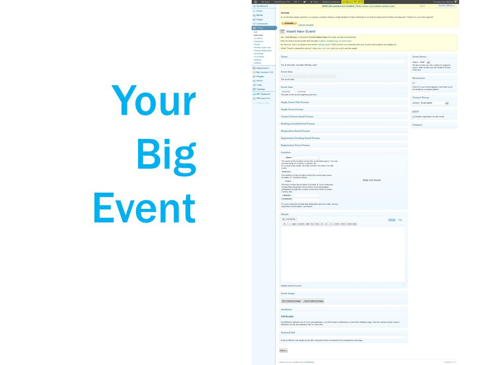 Your Big Event