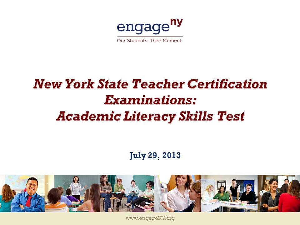New York State Teacher Certification Examinations Academic Literacy
