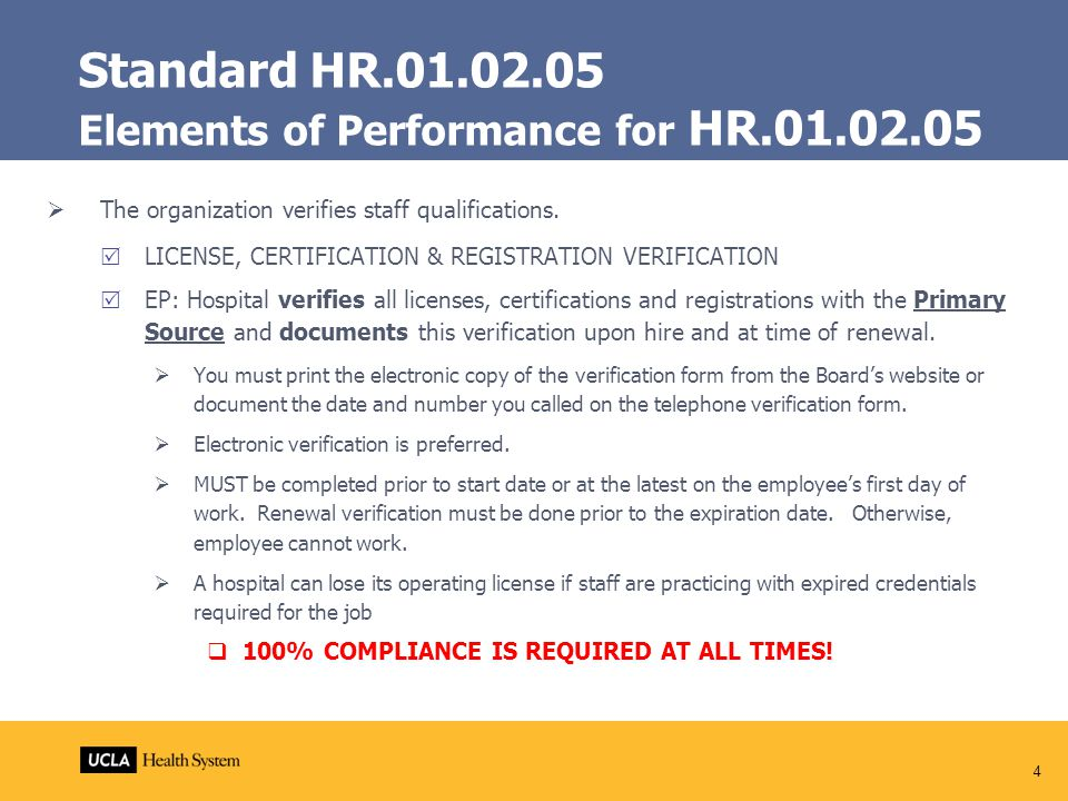 Hr Standards Competency Tracking System Health System Human