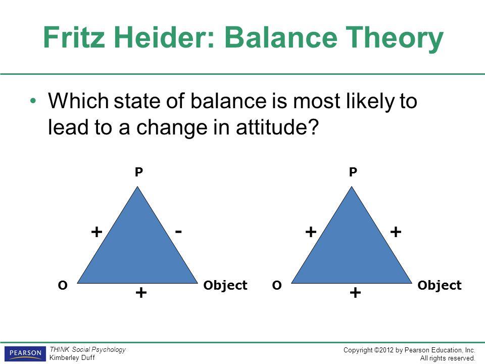 fritz heider balance theory