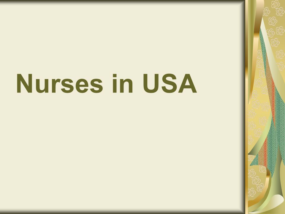 Nurses in USA