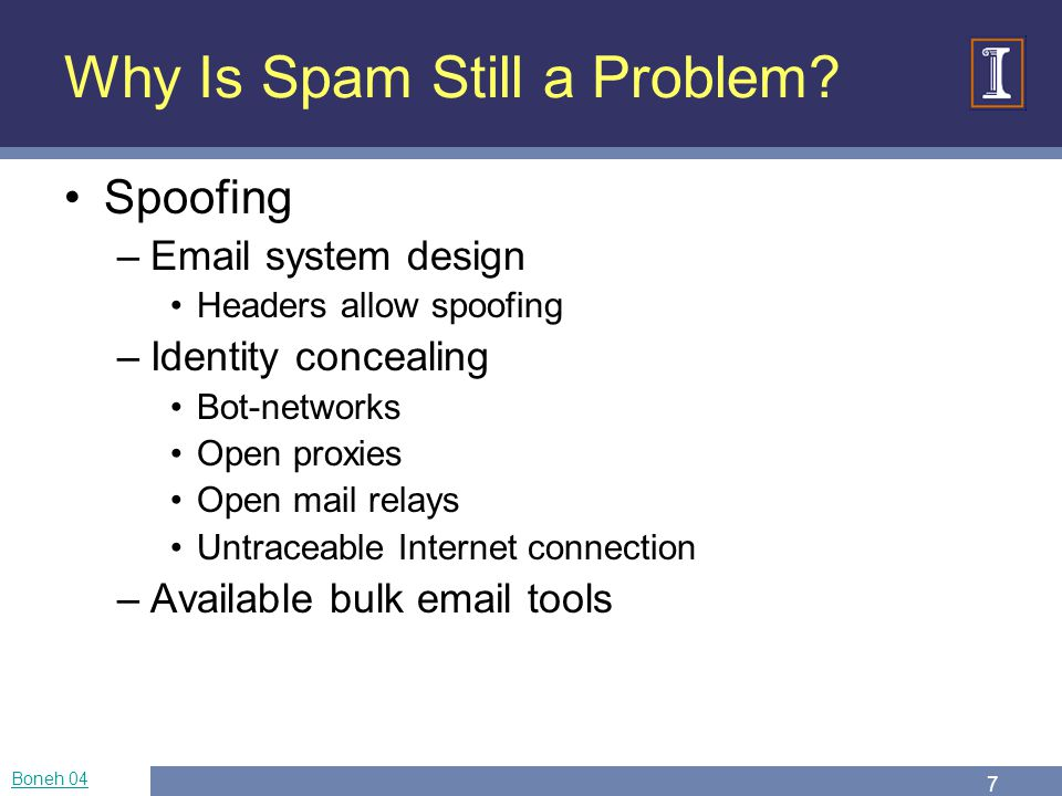 Spam Sonia Jahid University of Illinois Fall ppt download