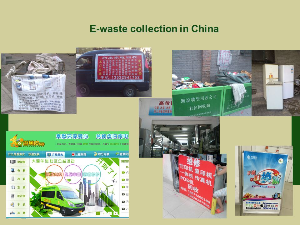 E-waste collection in China