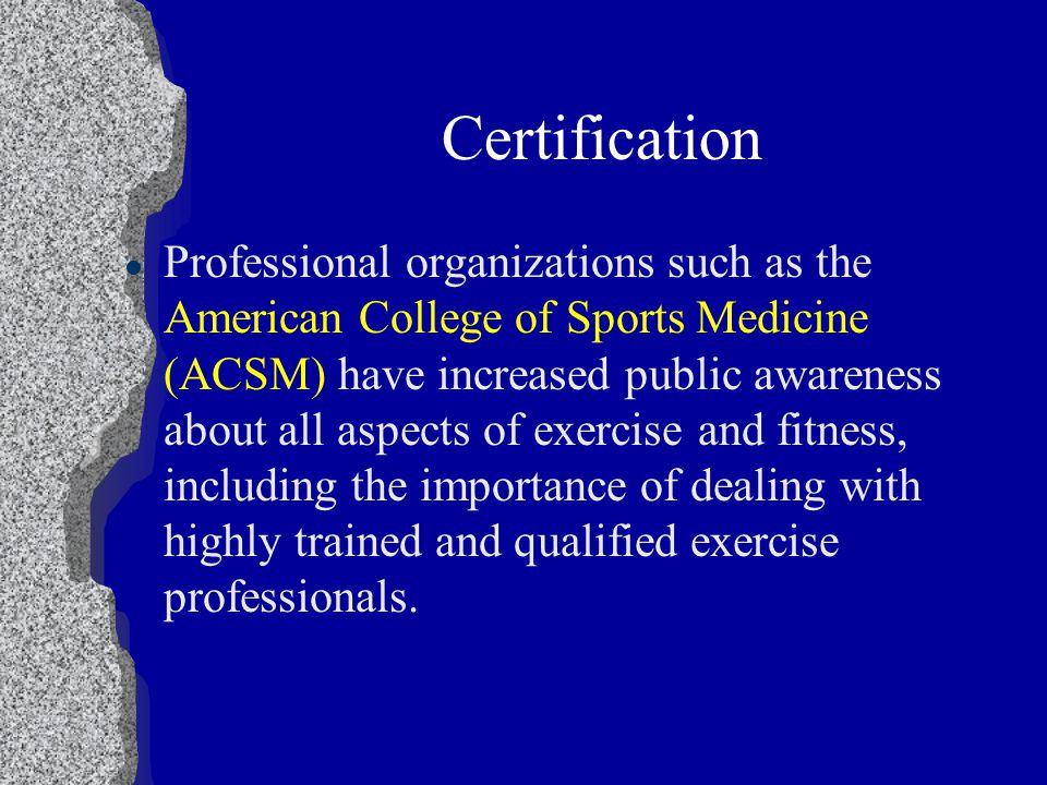 Professional Certification. Certification l Professional ...