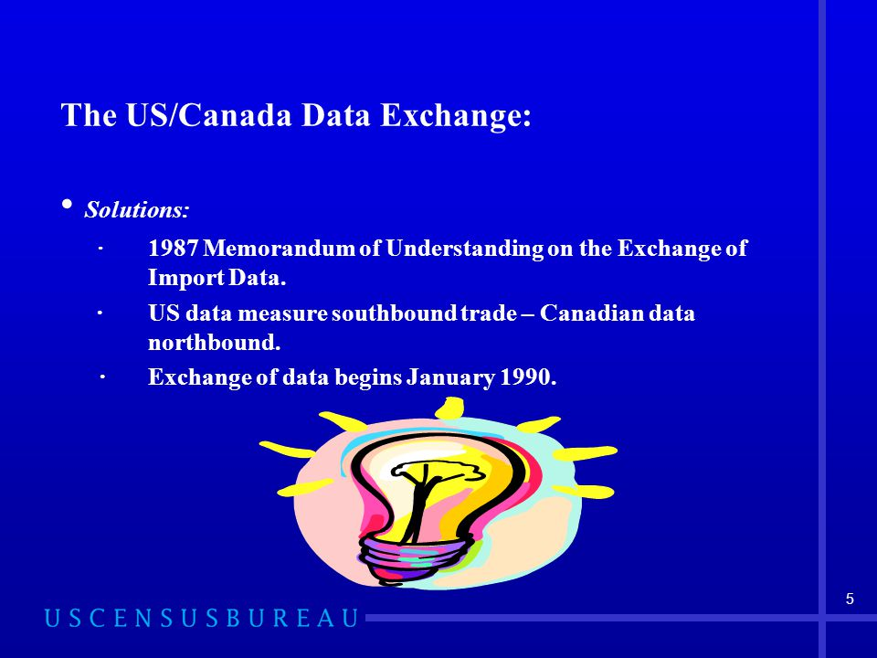 1 Using Non-Customs Data in Compiling U S  Trade Data  - ppt download