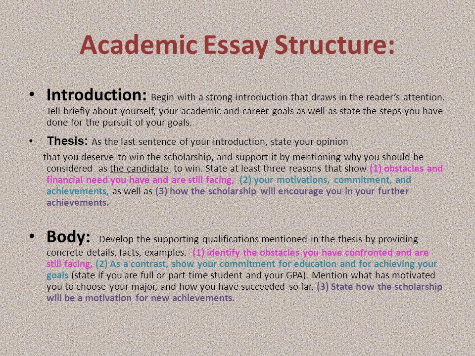 scholarship essay why do you deserve
