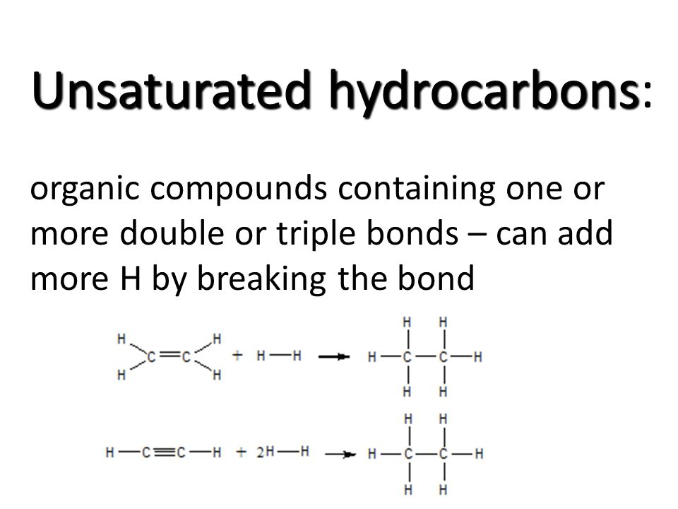 topic alkenes alkynes unsaturated hydrocarbons do now name the