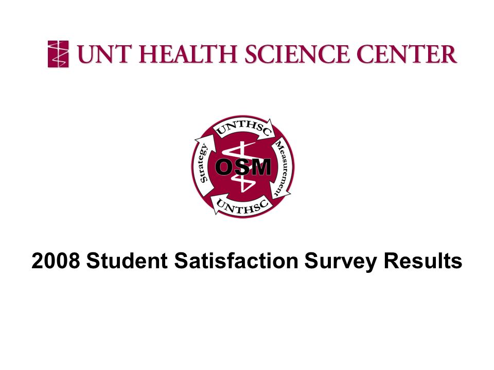 2008 Student Satisfaction Survey Results