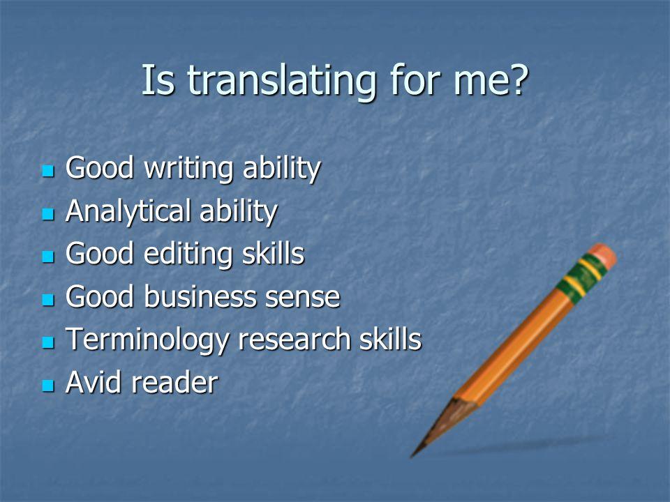 Image result for skills of a good translator