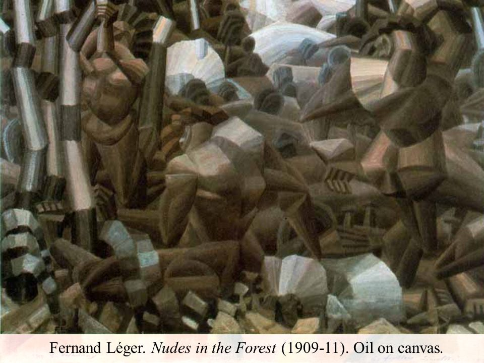 Fernand Léger. Nudes in the Forest ( ). Oil on canvas.