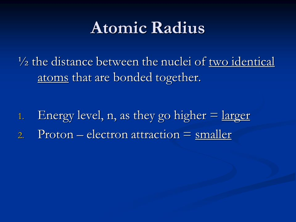 Periodic table trends and similarities periodic trends try to 5 atomic urtaz Gallery