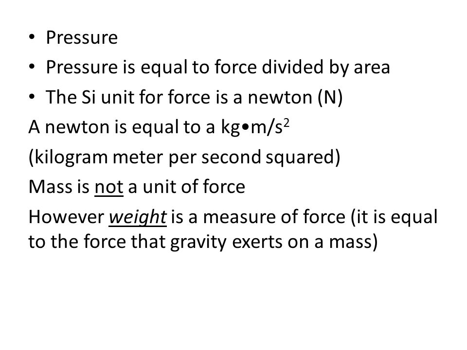 Conversion Factors Thermodynamics Pressure Is Equal To