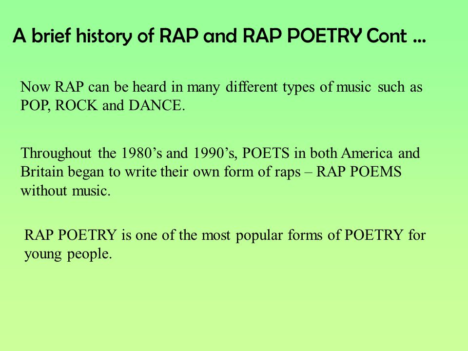 different types of rap music