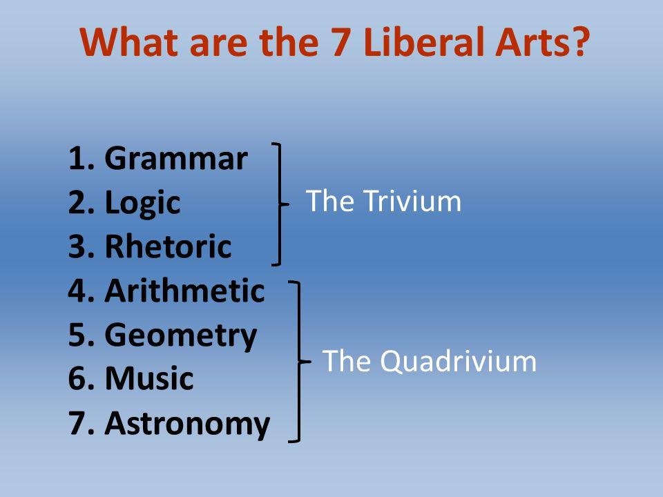 trivium and quadrivium education