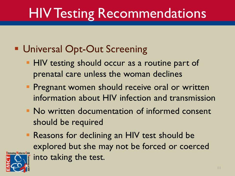 Prenatal hiv transmission heterosexual
