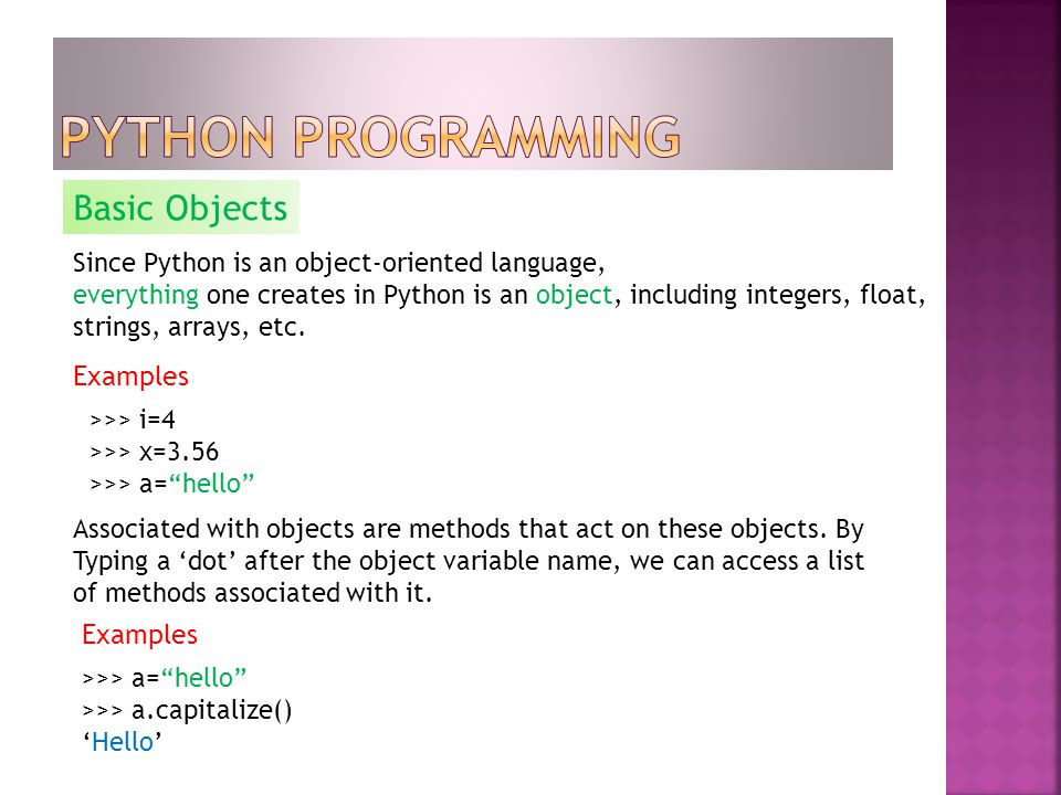 By  What advantages has it? The Reasons for Choosing Python