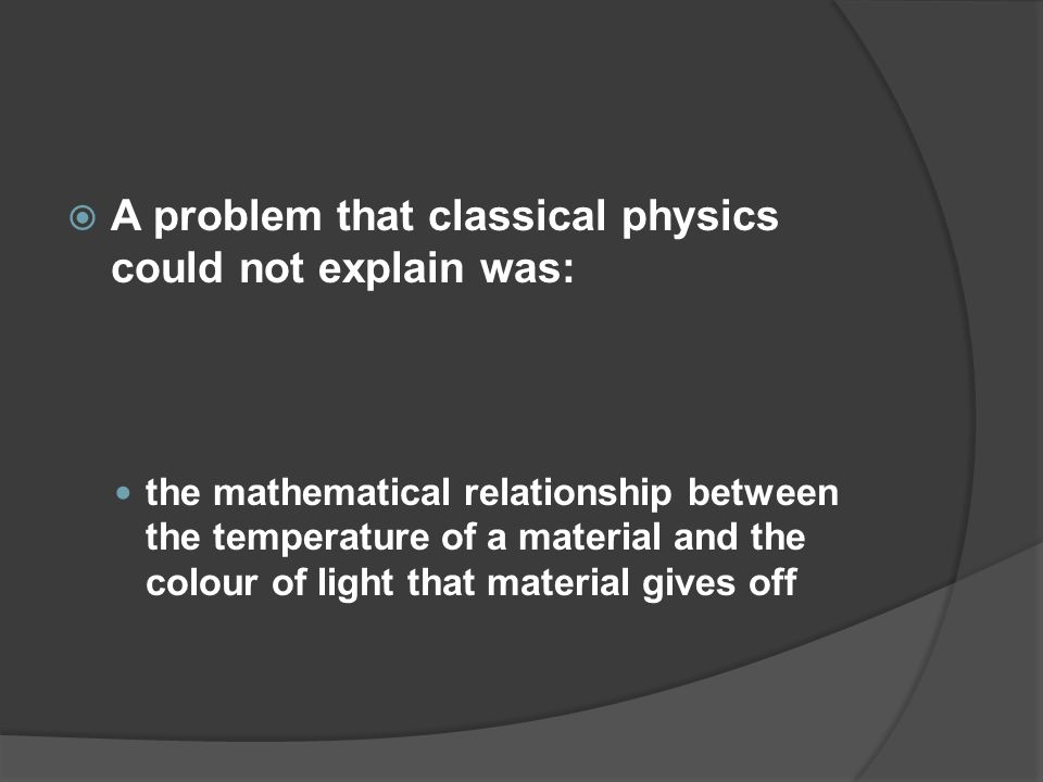 Light As A Particle Objectives Define A Quantum Calculate The