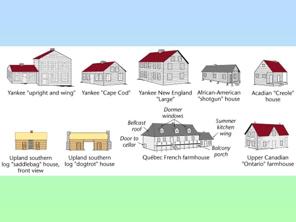 Houses  Folk ecology Folkways involve more than merely