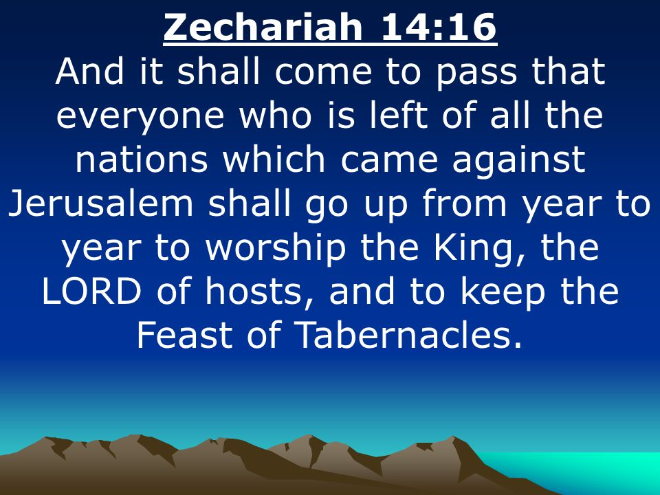 Image result for zechariah 14 16