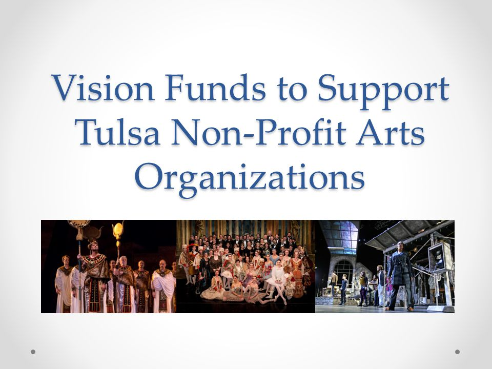 Vision Funds to Support Tulsa Non-Profit Arts Organizations