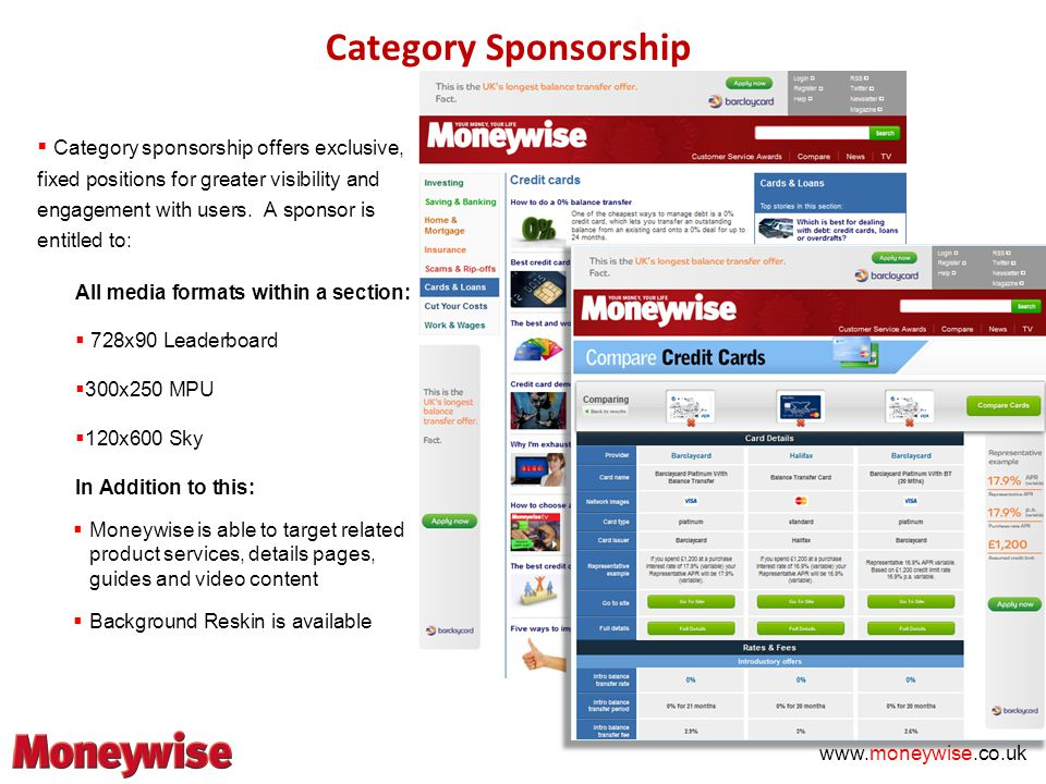 Category Sponsorship  Category sponsorship offers exclusive, fixed positions for greater visibility and engagement with users.